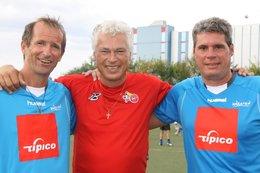 Fußballtennis mit Toni Polster